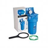 Магистральный фильтр - Колба Aquafilter Big Blue 10 FH10B1-B-WB